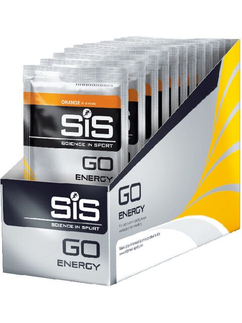 SiS GO Energy Drink Box 18x50g, Orange